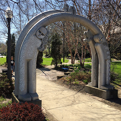 Heights Arts public art coventry arch