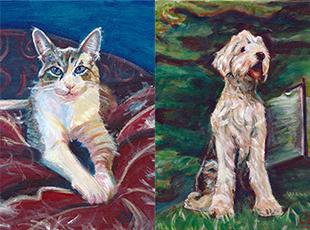 Pet Project Sample Art Carolyn Merklein