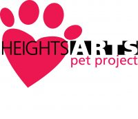 Heights Arts Pet Project logo