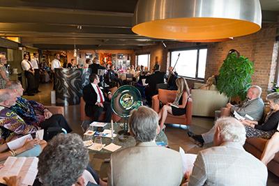 Enticing 2017 VIP reception