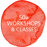 50+ workshops and classes