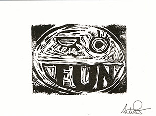 Big Fun, Steve Presser stamp