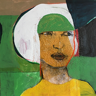Douglas Max Utter Woman with Green